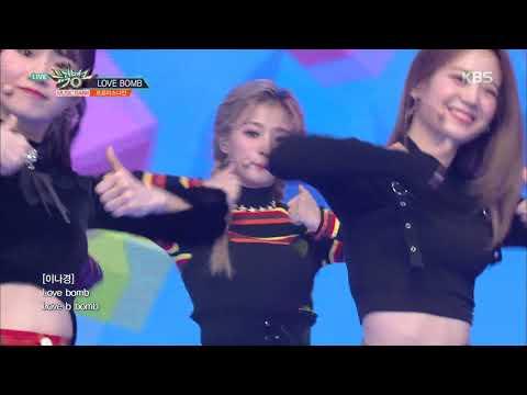 뮤직뱅크 Music Bank - LOVE BOMB  - 프로미스나인(fromis_9).20181116
