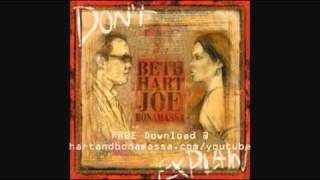 Beth Hart And Joe Bonamassa I 39 D Rather Go Blind