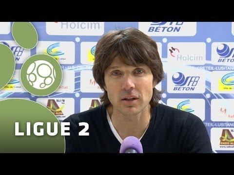Conférence de presse US Créteil – Clermont Foot (2-0) – 2013/2014