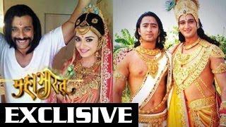 Arjun, Draupadi & Krishna's BEHIND THE SCENE Photos from Mahabharat 18th April 2014 -- EXCLUSIVE