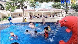 Du Lịch Vũng Tàu, Khu Vui Chơi Hồ Bơi Trẻ Em ở Resort Lan Rừng Phước Hải