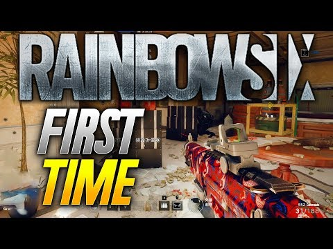 Rainbow 6: MY FIRST TIME PLAYING! (Rainbow 6 Siege Gameplay)