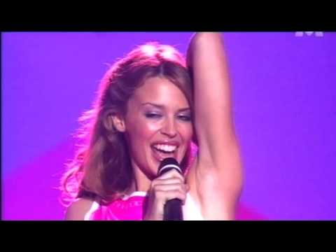 Kylie Minogue - Spinning Around And Interview  (Live Hit Machine 2000)