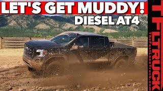 Can the New 2020 GMC Sierra 1500 AT4 Diesel Conquer Mud & Rocks?
