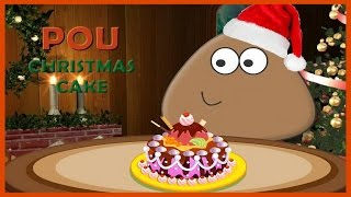 Great Pou Games for Kids-Pou Christmas Cake Video Play-Cooking Games