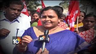 మా సంక్షేమం సంగతేంటి ?...| Story On  Scheme Works Strike In Nizamabad | AP