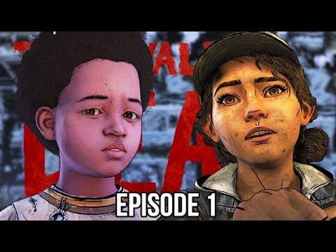 CLEMENTINE RETURNS - The Walking Dead Final Season - Done Running Part 1