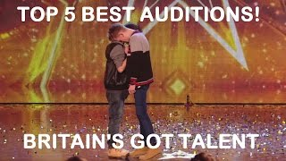 Top 5 Best Britain 39 S Got Talent Auditions The Most Viewed Auditions On Britain 39 S Got Tallent 2014