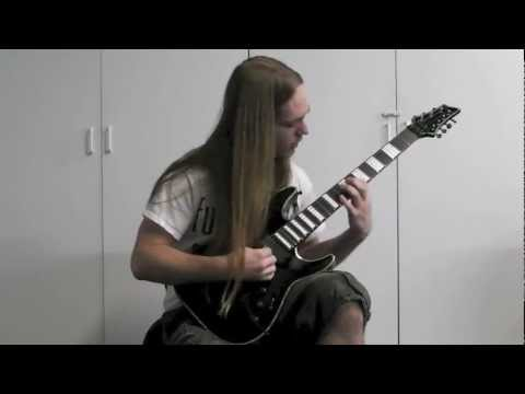 Lucas Mann (Rings of Saturn) Guest Solo Demo For Infant Annihilator's Flayed and Consumed