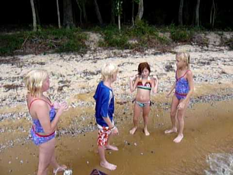Kids Singing Camp Song video