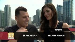 Sean Avery And Hilary Rhoda Model For Square One  ETCanada Segment