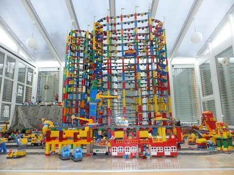 Lego Duplo Railway with Mega Tower - Lego Duplo Eisenbahn