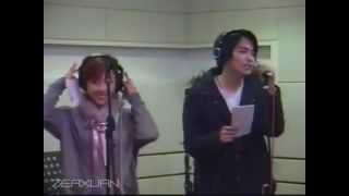 ZE:A Heechul singing with Yewon