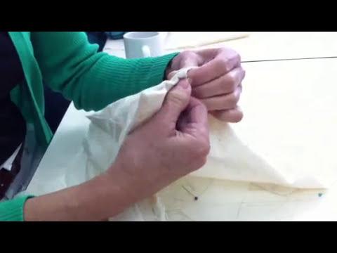 Cuello y pretina (camisa de hombre)