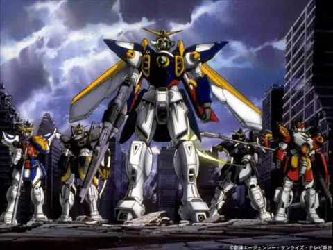 Gundam Wing Rhythm Emotion Orchestra - Two-mix video