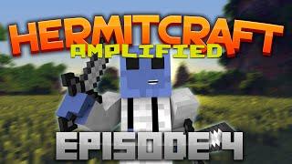 Hermitcraft: Lovely Waterfall! Ep. 4 (Hermitcraft Vanilla Amplified)