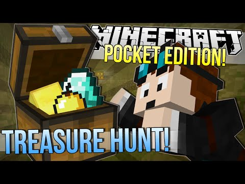 Minecraft Pocket Edition   TREASURE HUNT