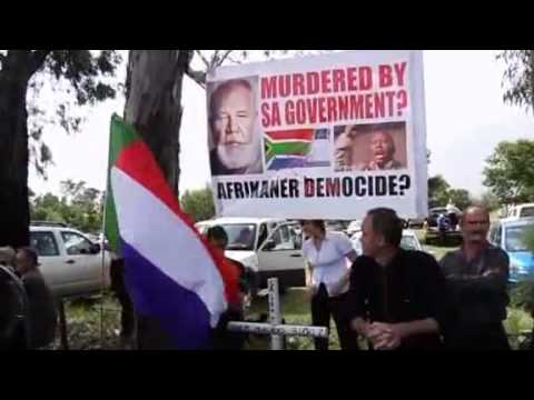 Eugene Terreblanche buried in South Africa