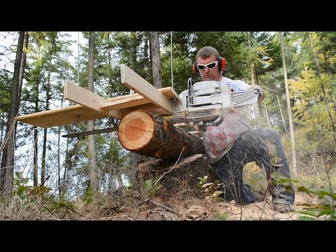 Granberg Alaskan Chainsaw Mill Unboxing - Upgrade From DIY Chainsaw Mill
