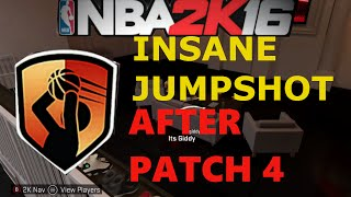 NBA 2K16 - INSANE JUMPSHOT After Patch 4/5! Easy Threes
