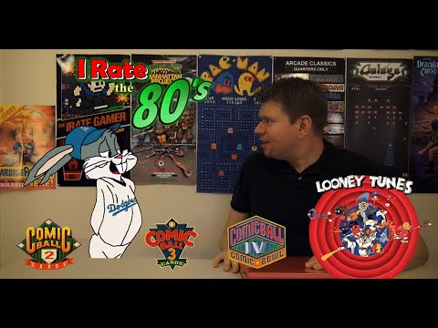 Irate the 80's - Looney Tunes Comic Ball Baseball Cards klip izle