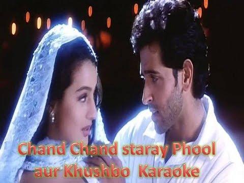 Chand sitare Phool aur Khushbo by Kumar sanu Karaoke