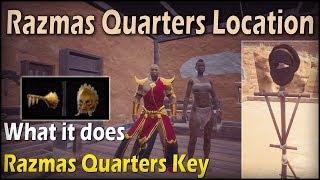 """Where Are Razmas Quarters - What it does """"Razmas Quarters Key"""" - Conan Exiles"""