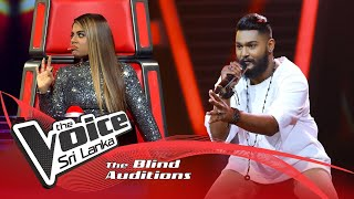 Nuwanga Samarasinghe - Hanika Warew Kollane Blind Auditions |The Voice Sri Lanka