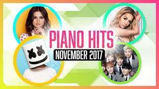 Download Lagu Piano Hits Pop Songs November 2017 : Over 1 hour of Billboard hits - music for classroom ,studying Gratis STAFABAND