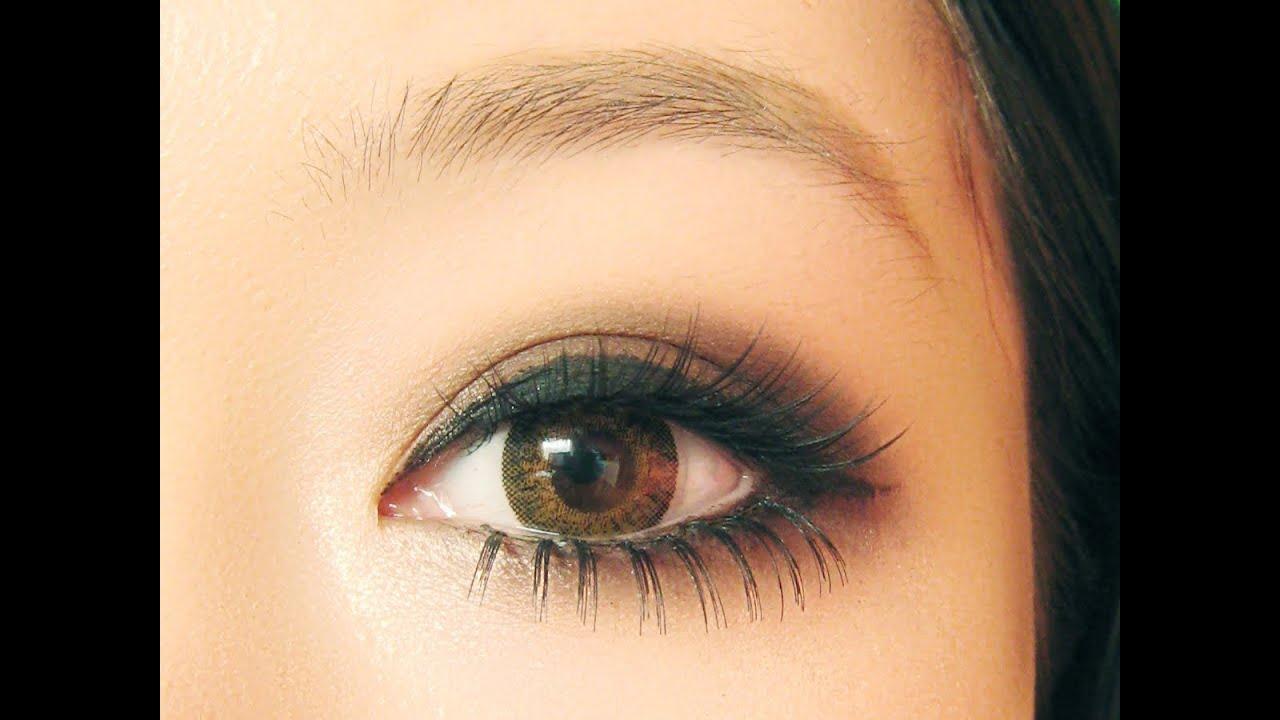 Макияжа японского глаза