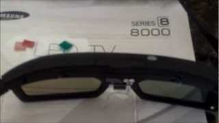 TESTING SAMSUNG 8000 3D TV & GLASSES REVIEW