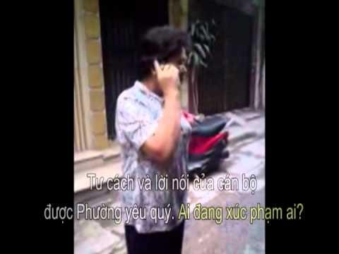 Tổ trưởng dân phố đến gây sự cho công an bắt giáo dân Thái Hà