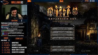 Diablo 2 - Holy Grail Sorc (07/16/2018)