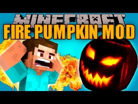 FIRE PUMPKIN MOD - Este mod esta peligroso!! - Minecraft mod 1.7.10 Review ESPAÑOL