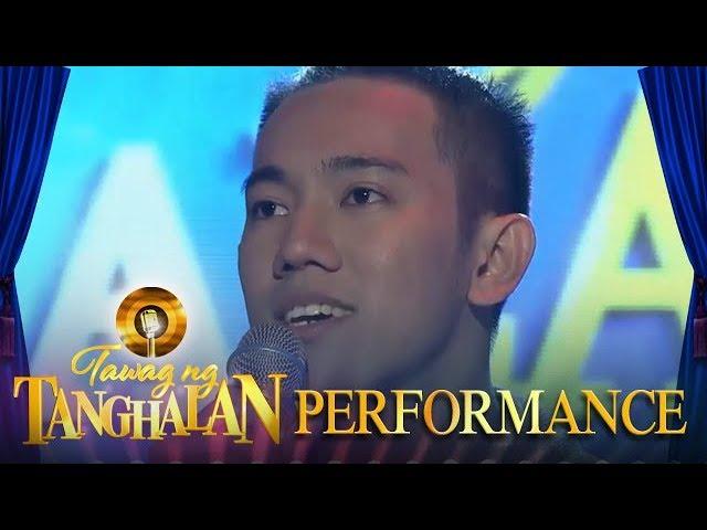 Tawag ng Tanghalan: John Michael Dela Cerna | Unchained Melody (Day 1 Semifinals)