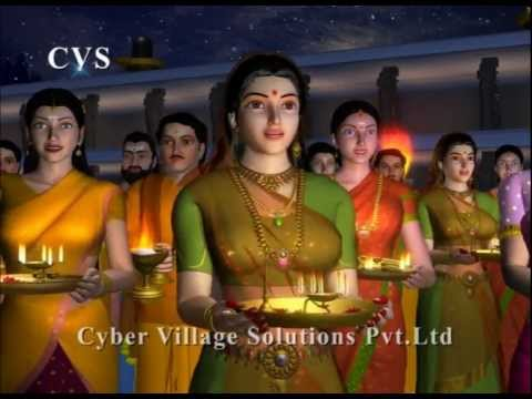 Om Jai Shiv Omkara - 3d Animation Shiva Aarti  Songs video