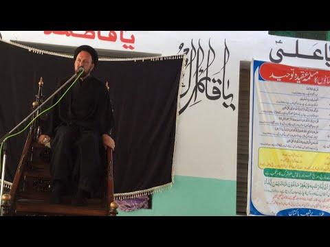 Allama Ali Hussain Madni LIVE from Hussainituzzahara Talagang