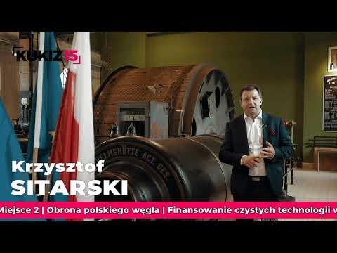 Krzysztof Sitarski - Kandydat Kukiz15 do Parlamentu Europejskiego. Lista nr 6. Miejsce nr 2.