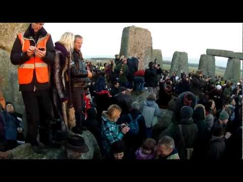 The 2012 Winter Solstice at Stonehenge