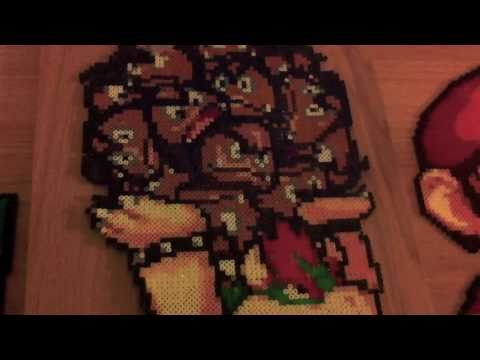 Nintendo Perler  Bead Collection - Part 1 - Mario Yoshi Bowser