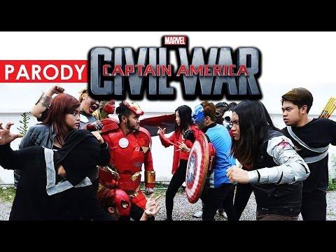 (Parody) Captain America : Civil War ล้อเลียน