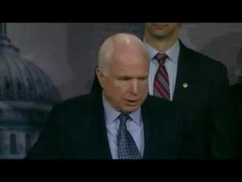 LIVE: AZ Senator John McCain and SC Senator Lindsey Graham Discuss Arming the Ukrainians