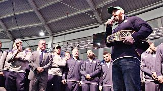 WWE Star Sheamus Pumps Up the Irish | A SEASON WITH NOTRE DAME FOOTBALL