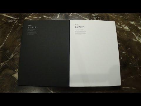 Unboxing EXO 엑소 3rd Korean Studio Album EX'ACT (Monster & Lucky One Version)