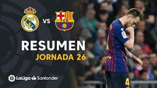 Resumen de Real Madrid vs FC Barcelona 0-1