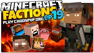 Minecraft Factions | #19 | HEAD HUNTERS! Raid Control Mission 3(Minecraft Factions Server)