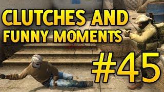 CS GO Funny Moments and Clutches #45 CSGO