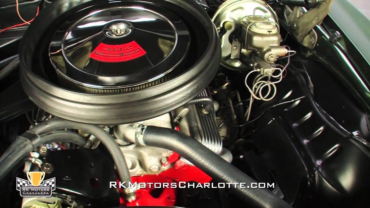 132832 1969 Chevrolet Camaro Z 28 Youtube