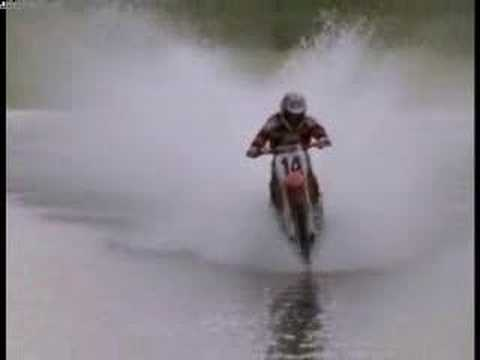 Dirt Bikes On Water Dirtbike on water