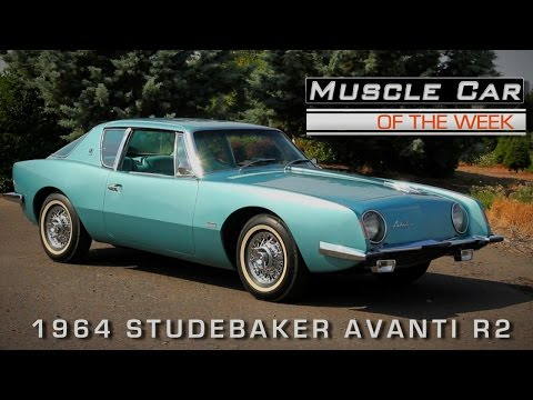 Muscle Car Of The Week Video Episode #138:  1964 Studebaker Avanti Paxton Supercharged R2